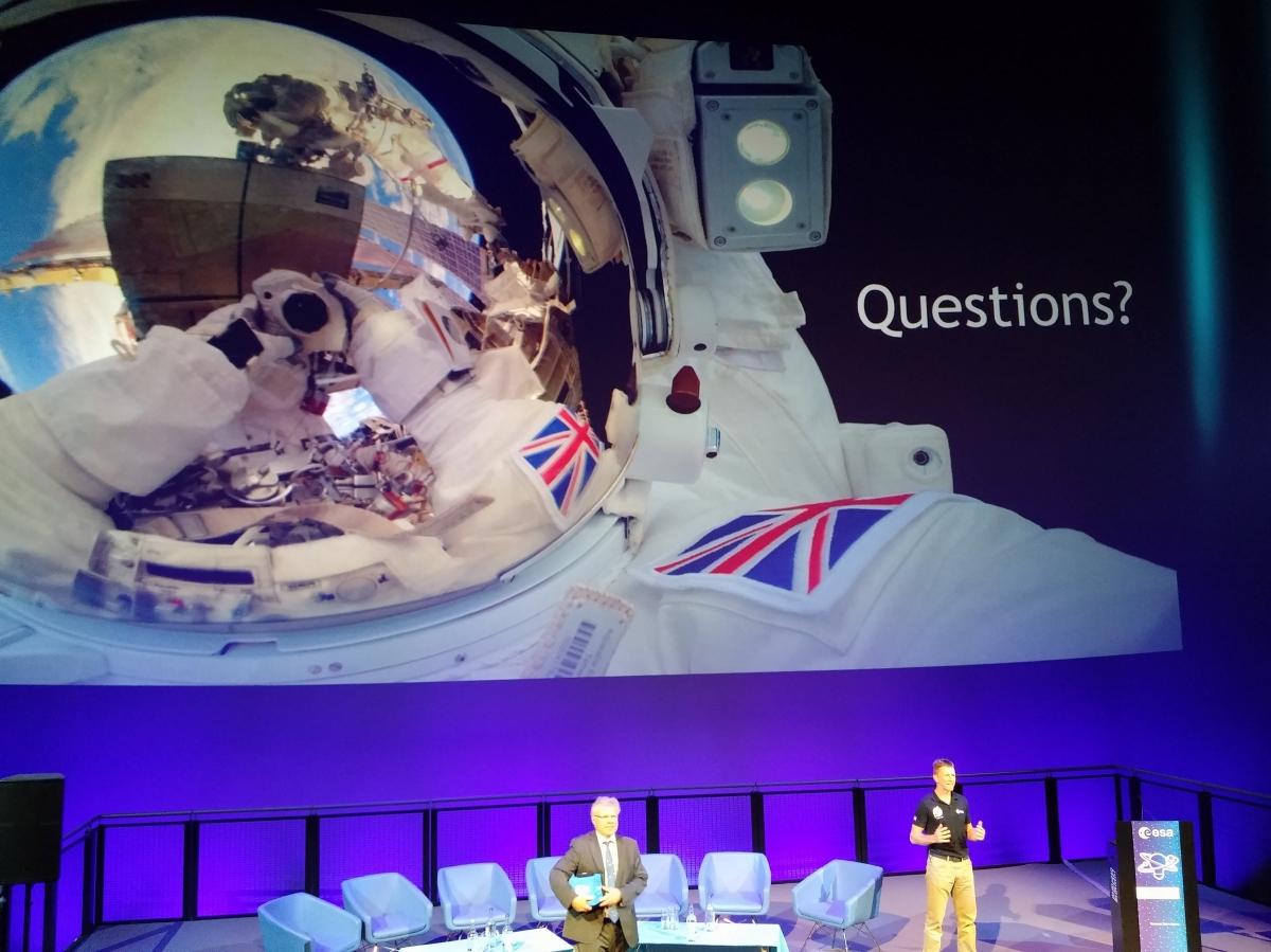 Astronaut Tim - Space Selfie
