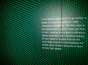 Quote @ Science Museum