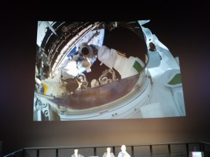 Astronaut Luca - Space Selfie