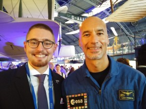 Space Selfie with Astro Luca
