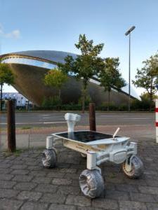 PT Scientist's Audi Quattro Lunar Rover