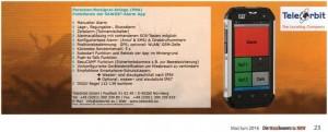 WBV SAWOS-Anzeige
